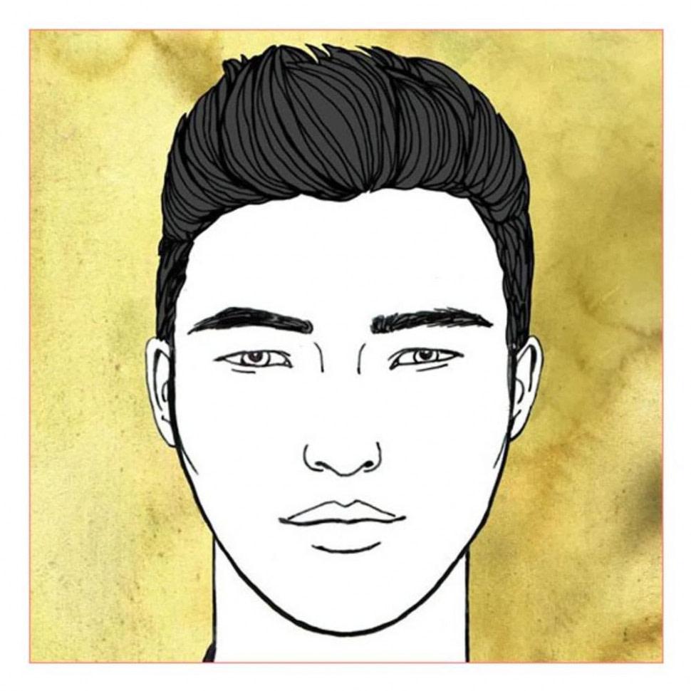 Nach oben Frisuren für Männer und rundes Gesicht - Passende Beispiele und Tipps