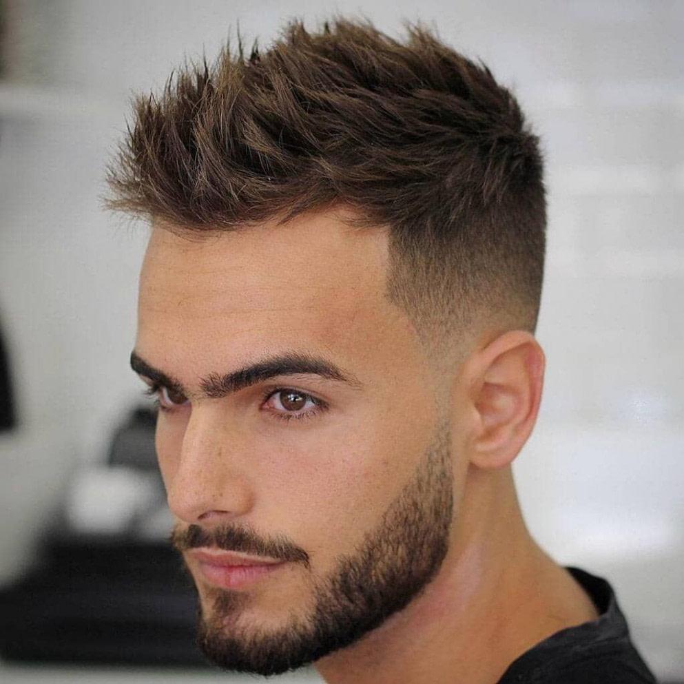 Nach oben 16 stilvolle Mann Frisur Ideen, die Sie ausprobieren müssen in