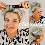 Pin Auf Kurze Haare Locken Frisuren Mit Glätteisen Kurze Haare